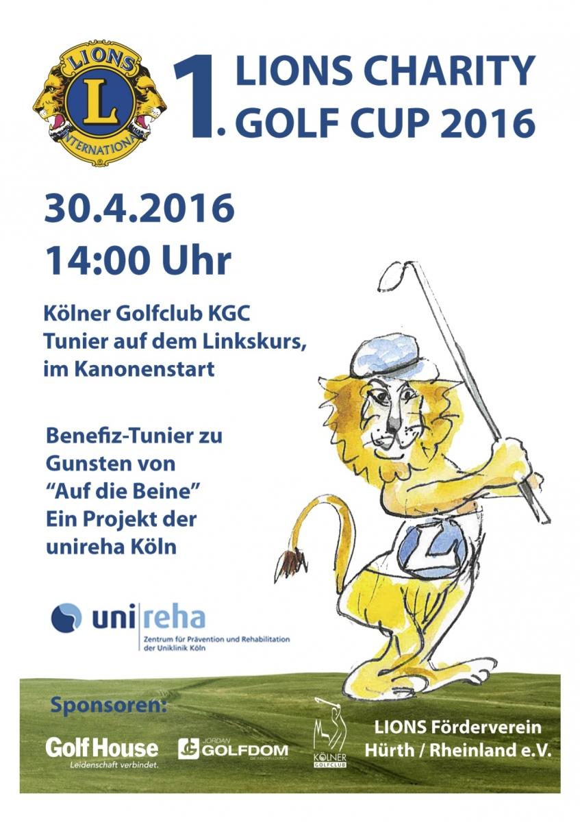 Lions Golf Cup 2016 Plakat